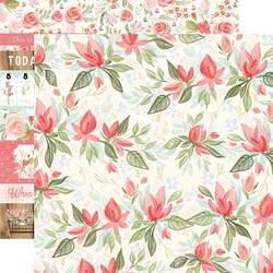Carta Bella Farmhouse Market skräppipaperi Timeless Floral