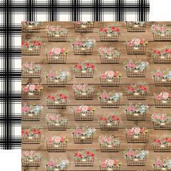 Carta Bella Farmhouse Market skräppipaperi Baskets