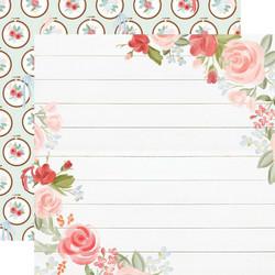Carta Bella Farmhouse Market skräppipaperi Floral Corners