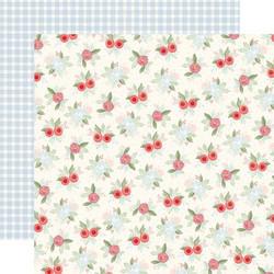 Carta Bella Farmhouse Market skräppipaperi Vintage Floral