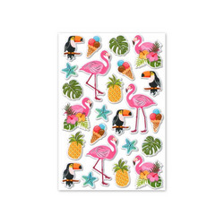 MultiCraft Foil Fun tarrat Flamingo