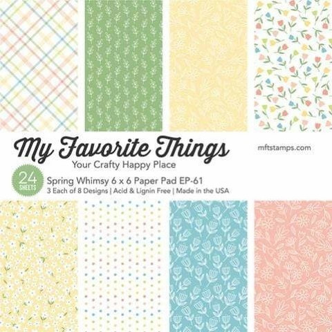My Favorite Things Your Crafty Happy Place -paperikko
