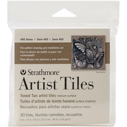 Strathmore Artist Tiles -paperipakkaus, 4