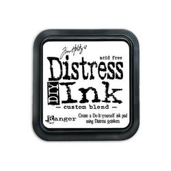 Distress DIY -mustetyyny, tee-se-itse