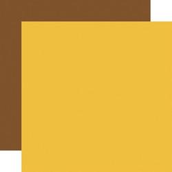 Carta Bella Family Night skräppipaperi Yellow / Brown
