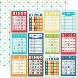 Carta Bella Family Night skräppipaperi Bingo Cards