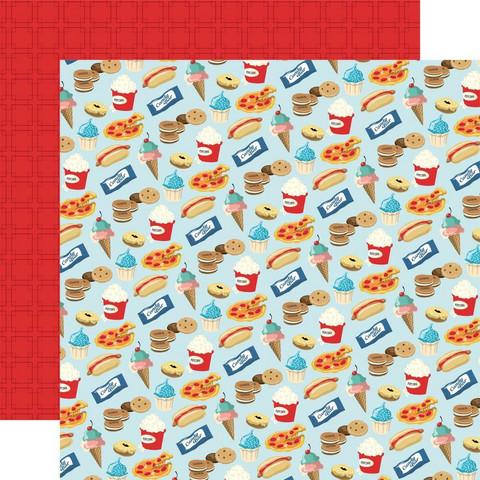Carta Bella Family Night skräppipaperi Snack Time