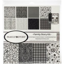 Reminisce Family Story -paperipakkaus 12