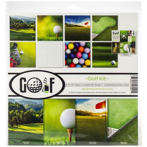 Reminisce Golf -paperipakkaus 12