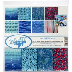 Reminisce Sea Life -paperipakkaus 12