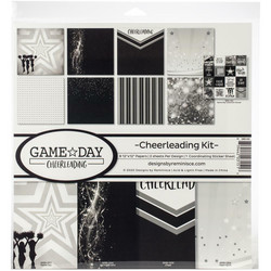 Reminisce Game Day: Cheerleading -paperipakkaus 12