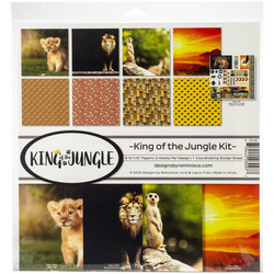 Reminisce King of the Jungle -paperipakkaus 12
