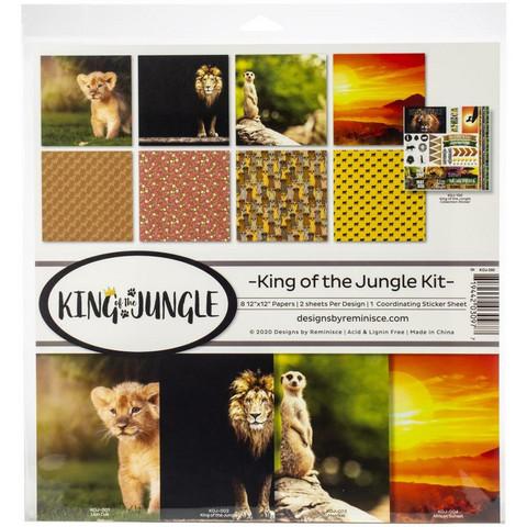 Reminisce King of the Jungle -paperipakkaus 12