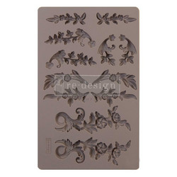 Prima Re-Design Decor Mould -muotti Delicate Flora