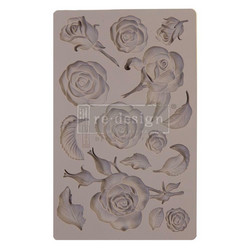 Prima Re-Design Decor Mould -muotti Fragrant Roses