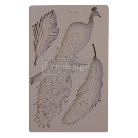 Prima Re-Design Decor Mould -muotti Regal Peacock