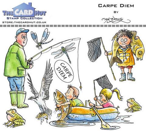 The Card Hut leimasinsetti Carpe Diem