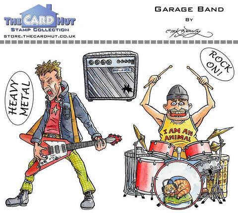 The Card Hut leimasinsetti Garage Band