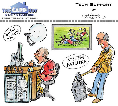 The Card Hut leimasinsetti Tech Support
