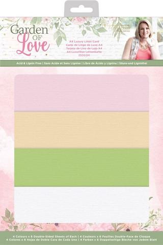 Sara Signature Garden Of Love Luxury Linen -kartonkipakkaus