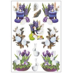 3D Relief -tarrat, Easter Decoration