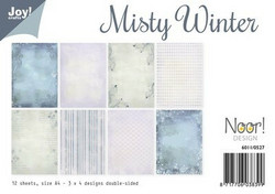 Joy! crafts paperipakkaus Misty Winter