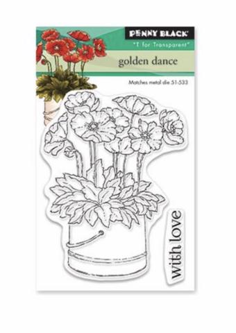 Penny Black Golden Dance -leimasinsetti