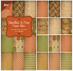 Joy! crafts paperipakkaus Needles & Pins, 15 x 30 cm