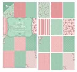 Joy! crafts paperipakkaus Floral, 15 x 30 cm
