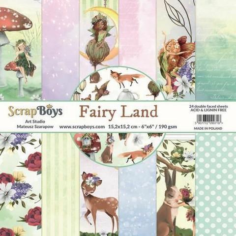 ScrapBoys paperikko Fairy Land