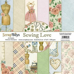 ScrapBoys paperikko Sewing Love