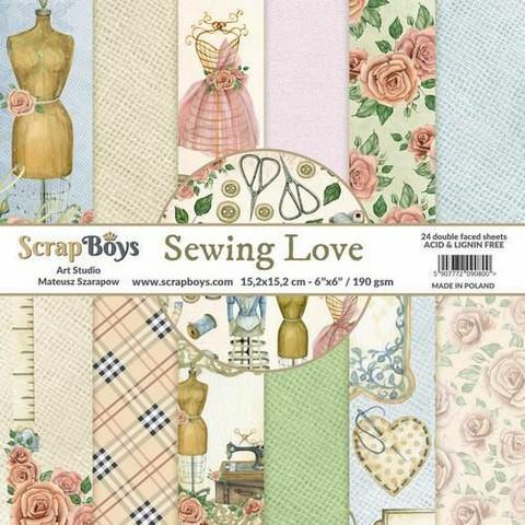 ScrapBoys paperikko Sewing Love