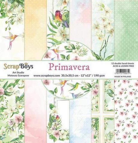 ScrapBoys paperikko Primavera,12