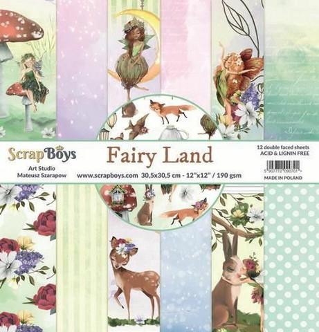 ScrapBoys paperikko Fairy Land,12