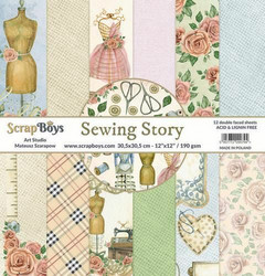 ScrapBoys paperikko Sewing Love, 12