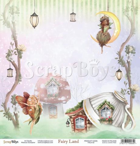 ScrapBoys Fairy Land skräppipaperi 02