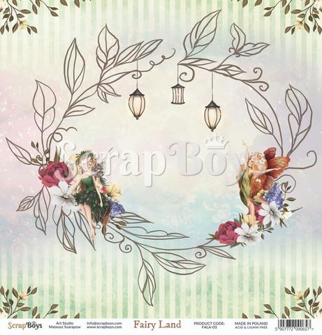 ScrapBoys Fairy Land skräppipaperi 03