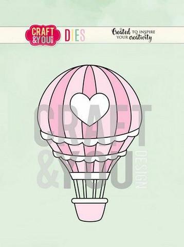 Craft & You stanssisetti Balloon