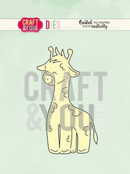 Craft & You stanssi Giraffe