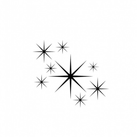Lavinia Stamps leimasin Stars 1 Mini