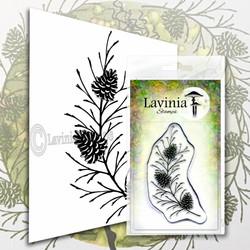 Lavinia Stamps leimasin Fir Cone Branch