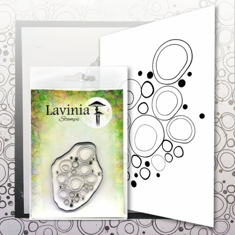 Lavinia Stamps leimasin Blue Orbs