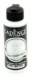 Cadence Hybrid Acrylic -akryylimaali, sävy White, 120 ml