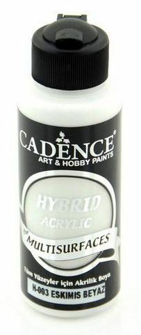 Cadence Hybrid Acrylic -akryylimaali, sävy Ancient White, 120 ml