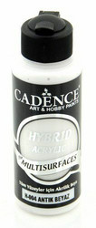 Cadence Hybrid Acrylic -akryylimaali, sävy Antique White, 120 ml