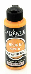 Cadence Hybrid Acrylic -akryylimaali, sävy Light Orange, 120 ml