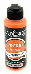 Cadence Hybrid Acrylic -akryylimaali, sävy Orange, 120 ml