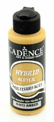 Cadence Hybrid Acrylic -akryylimaali, sävy Amber, 120 ml