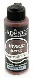 Cadence Hybrid Acrylic -akryylimaali, sävy Chocolate, 120 ml