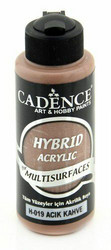 Cadence Hybrid Acrylic -akryylimaali, sävy Light Brown, 120 ml